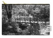 Bridge Of Centralpark In Black And White Carry-all Pouch