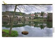 Bridge Over Lima River Carry-all Pouch