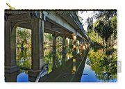 Bridge Over Ovens River Carry-all Pouch by Kaye Menner