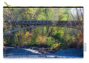 Bridge Over The Elwha Carry-all Pouch