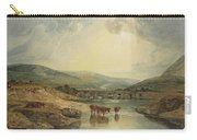 Bridge Over The Usk Carry-all Pouch