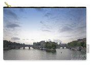 Bridges On River Seine. Paris. France Carry-all Pouch