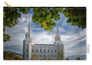 Brigham City Temple Leaves Arch Carry-all Pouch