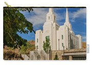 Brigham City Temple Stones Carry-all Pouch