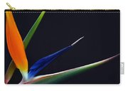 Bright Bird Of Paradise Rectangle Frame Carry-all Pouch