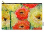 Bright Colored Flowers Shine Carry-all Pouch