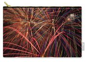 Bright Colorful Fireworks Carry-all Pouch