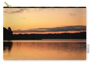 Bright Morning Skies On The Lake Carry-all Pouch