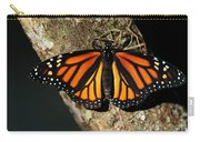 Bright Orange Monarch Butterfly Carry-all Pouch