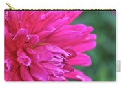 Bright Pink Dahlia Carry-all Pouch