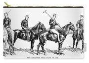 Brighton Polo Club, 1877 Carry-all Pouch