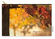 Brilliant Autumn Color Carry-all Pouch