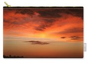 Brilliant Sunrise Over Montevideo Carry-all Pouch