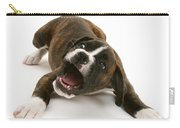 Brindle Boxer Pup Carry-all Pouch