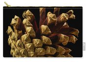 Close Up Of Pinecone Carry-all Pouch