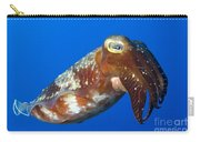 Broadclub Cuttlefish, Papua New Guinea Carry-all Pouch by Steve Jones