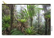 Bromeliads And Tree Ferns  Carry-all Pouch by Cyril Ruoso