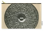 Bronze Compass, Ming Dynasty Carry-all Pouch
