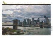 Brooklyn Bridge Carousel Carry-all Pouch