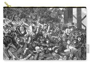 Brooklyn Bridge Panic 1883 Carry-all Pouch