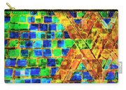 Brooklyn Tile Abstract Carry-all Pouch