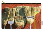 Brooms Leaning Against Wall Carry-all Pouch
