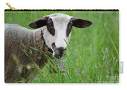 Brown And White Sheep Carry-all Pouch