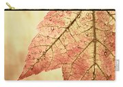 Brown Autumn Carry-all Pouch by Carol Leigh