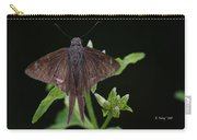 Brown Butterfly Dorantes Longtail Carry-all Pouch