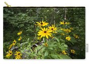 Brown-eyed Susan In The Woods Carry-all Pouch by Gary Eason
