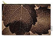 Brown Ivy Carry-all Pouch