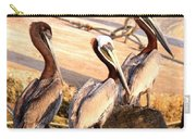 Brown Pelican - Holding Things Together Carry-all Pouch