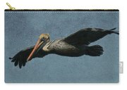 Brown Pelican Painterly Carry-all Pouch