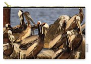 Brown Pelicans - Beauty Of Sand Island Carry-all Pouch