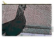 Brown Red Old English Game Bantam 2 Carry-all Pouch