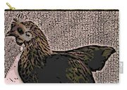 Brown Red Old English Game Bantam Carry-all Pouch