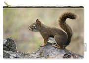 Brown Squirrel In Spokane Carry-all Pouch