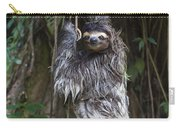 Brown Throated Three Toed Sloth Mother Carry-all Pouch