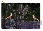 Brown Thrush Carry-all Pouch