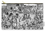 Bruegel: Ice Skaters Carry-all Pouch