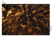 Brushed Gold Carry-all Pouch by Rhonda Barrett