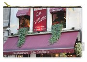 Brussels - Restaurant La Villette With Trees Carry-all Pouch by Carol Groenen