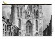 Brussels: Cathedral, 1838 Carry-all Pouch