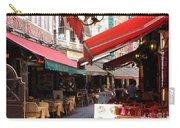 Brussels Restaurant Street - Rue De Bouchers Carry-all Pouch