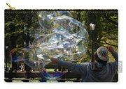 Bubble Blowr Of Central Park Carry-all Pouch