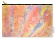 Bubbles Original Abstract Watercolor Carry-all Pouch