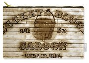 Bucket Of Blood Saloon Carry-all Pouch