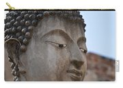 Buddha Head Wat Wattanaram Ayutthaya Thailand Carry-all Pouch