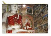 Buddha Image In Po Win Taung Caves. Carry-all Pouch