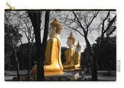 Buddha In The Jungle Carry-all Pouch by Adrian Evans